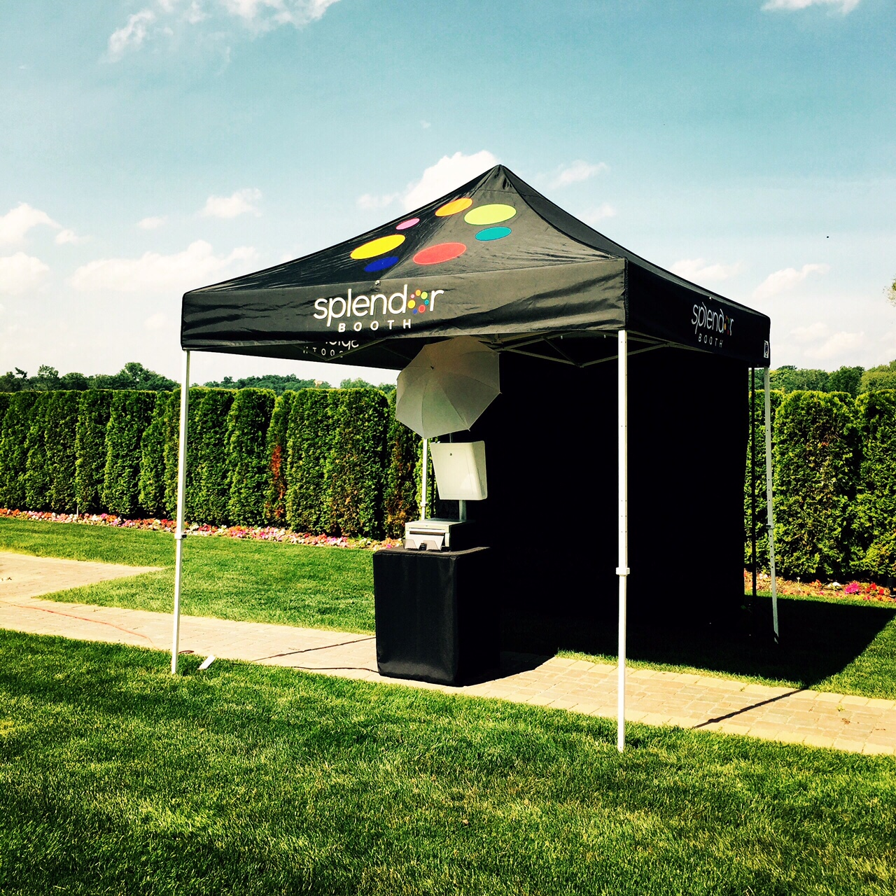 Outdoor Photo Booth Photo Booth Rentals Detroit Michigan